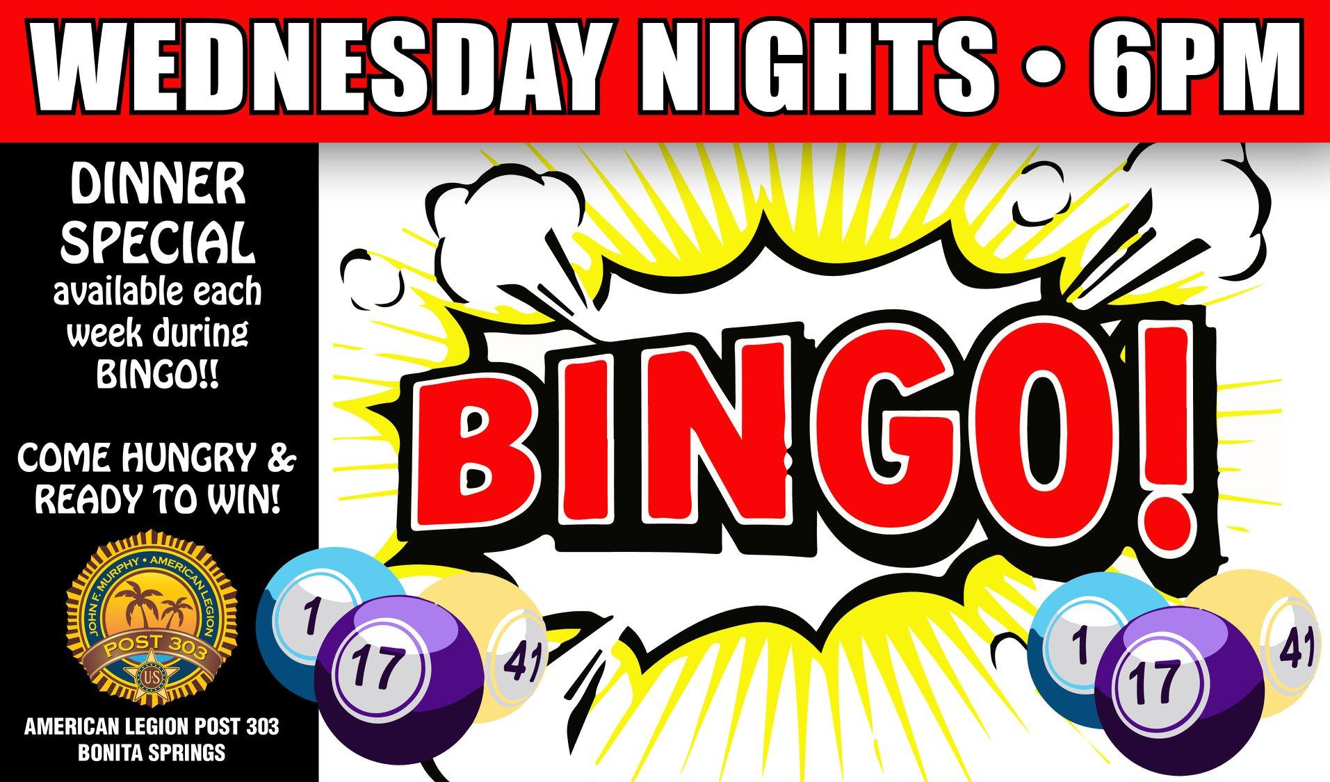 Post 303 Bingo Image