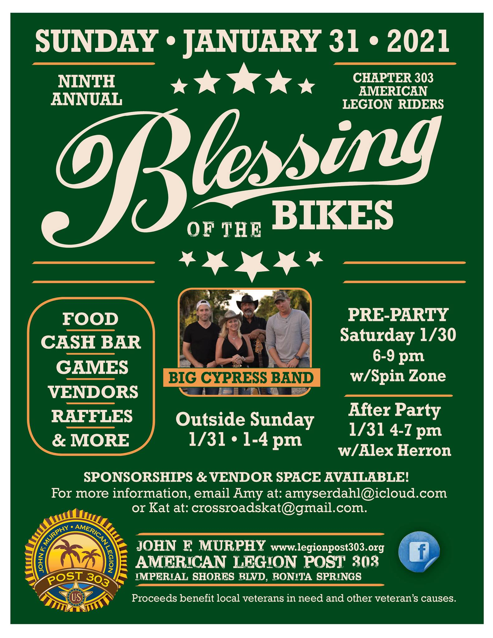Blessing of the Bikes Flyer