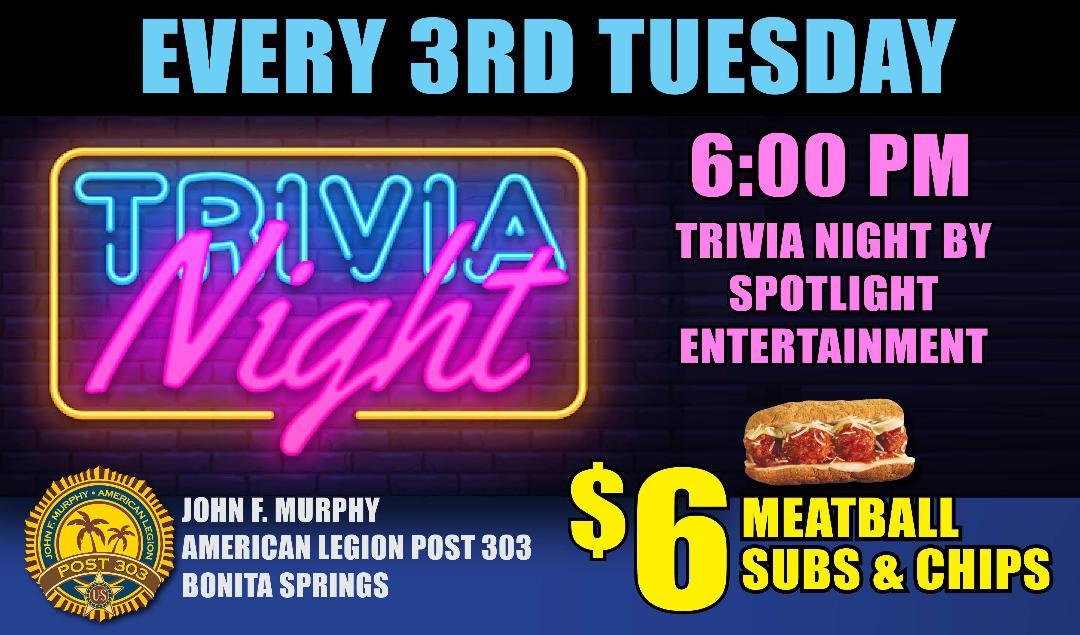 trivia night ad