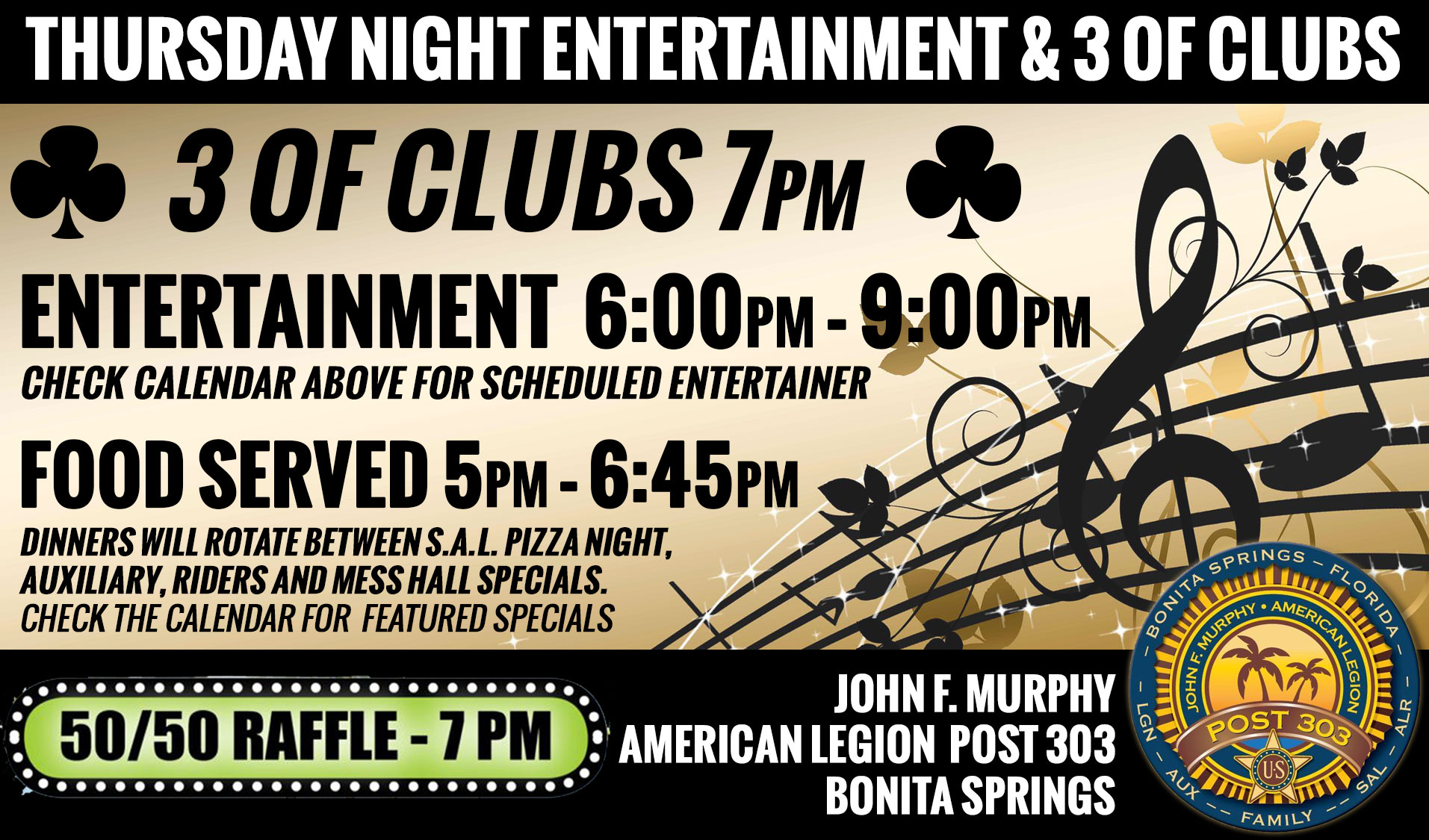 thursday night events banner