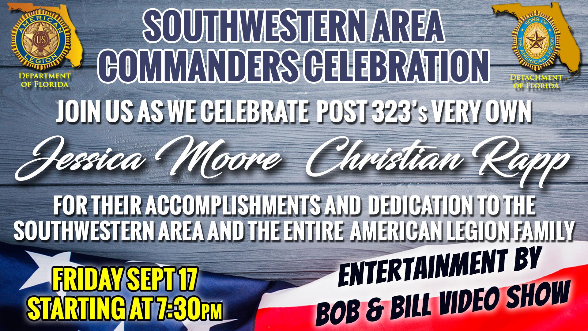 SW Area Commanders Celebration