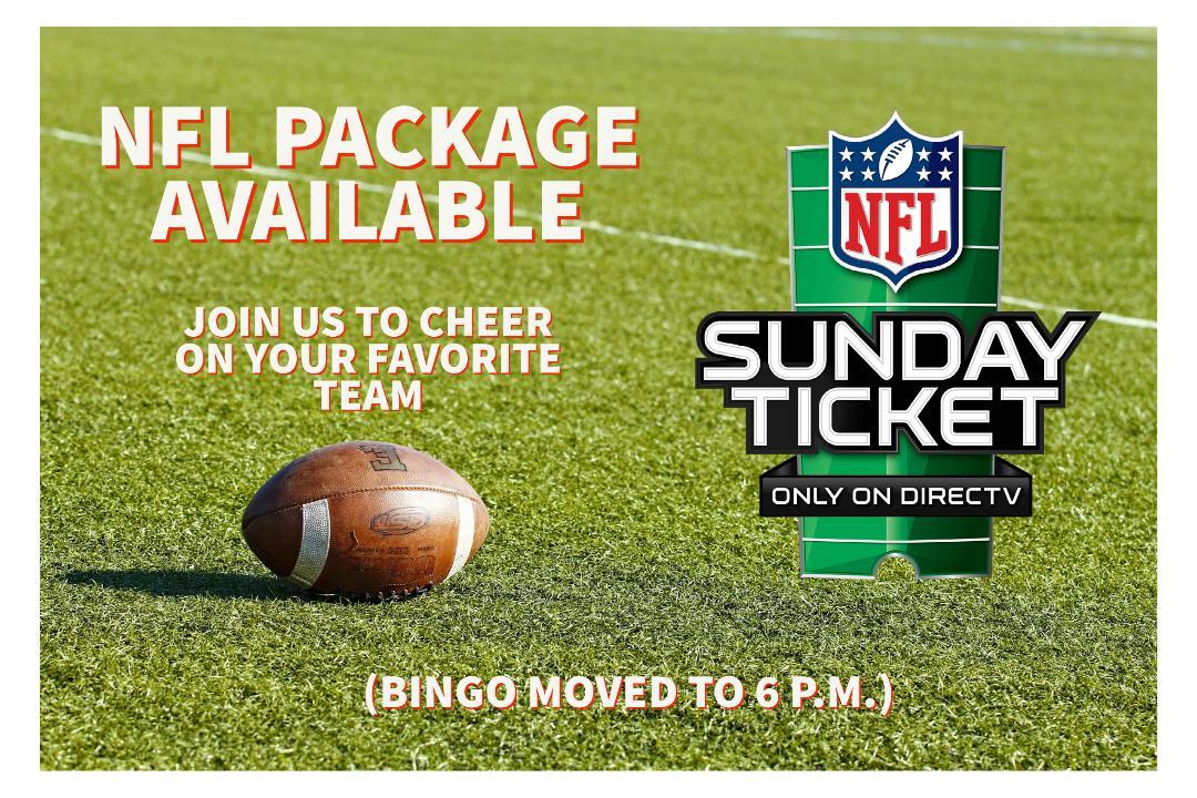 NFL Sunday Ticket Ad