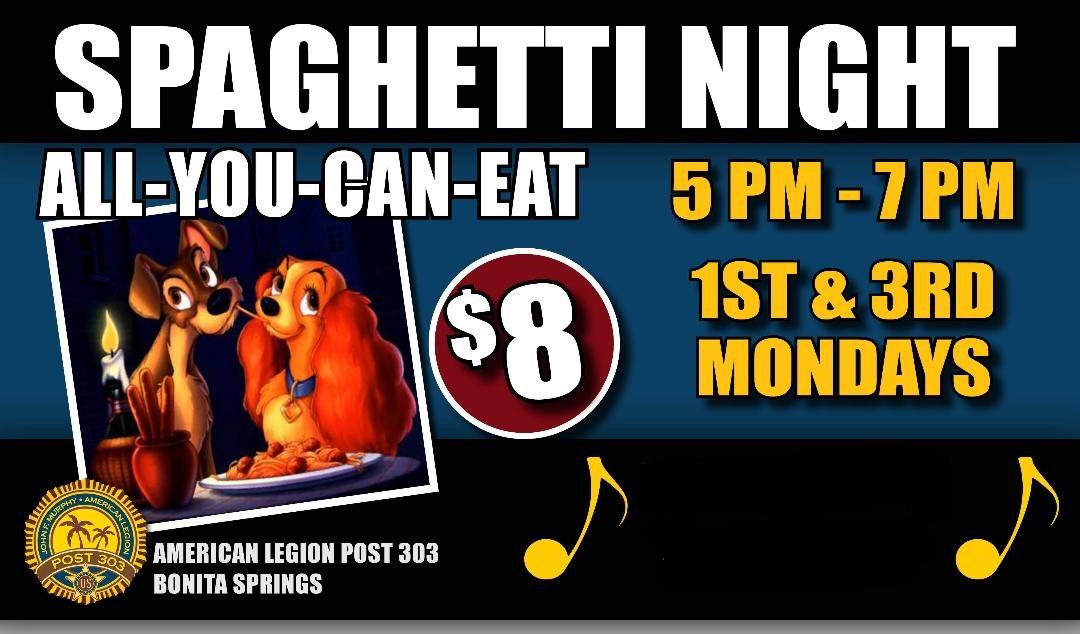 Spaghetti Nights Ad